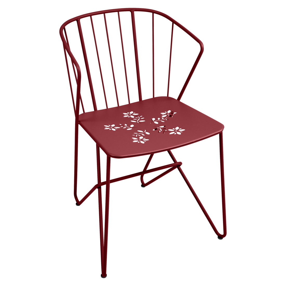 FLOWER / PERFORATED ARMCHAIR